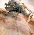 N.c. Wyeth: Ore Wagon by Granger