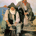 N.c. Wyeth: The Pay Stage by Granger
