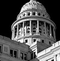 Near Infrared Image Of The Texas State Capitol by David Thompson