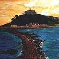 Near Penzance St. Michaels Mount by Richard  Hubal