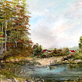 Near The Pond by Dorothy Maier