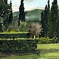 Near Villa Mandri Gardens by Robert Bowden