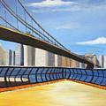 Neath The Brooklyn Bridge by Rich Fotia