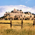 Nebraska Buttes by Tingy Wende