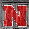 Nebraska Cornhuskers Barn Doors by Joe Hamilton