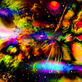 Nebula Collision Course by Ron Fleishman