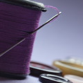 Needle And Thread by Valerie Morrison