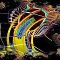 Needle In Fractal 4 by Tim Allen