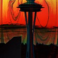 Needle Silhouette 2 by Tim Allen
