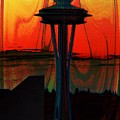 Needle Silhouette 3 by Tim Allen