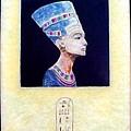 Nefertiti The Beautiful One by Jackie Dunford
