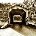 Neff's Mill Covered Bridge - Lancaster County Pa. by Bill Cannon