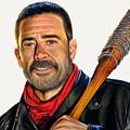 Negan - The Walking Dead by David Dias