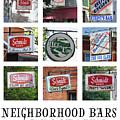 Neighborhood Bars Winona Mn 8x10 Yearous by Kari Yearous
