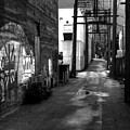 Nelson Bc Alley by Lee Santa