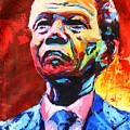 Nelson Mandela 3 by Evans Yegon