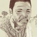 Nelson Mandela by Clinton Helms
