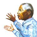 Nelson Mandela by Emmanuel Baliyanga