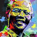 Nelson Mandela Madiba by Anthony Mwangi