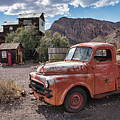 Nelson Old Dodge In The Desert by Kristia Adams