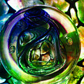 Nemunas Glass Paperweight by Jolanta Anna Karolska
