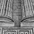 Neo Classical Architectural Detail In New York City by Bob Estremera