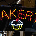 Neon Bakery Sign by Inti St. Clair