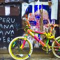 Neon Bike by William Alger