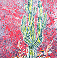 Neon Cactus by Lindsey Fry