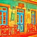 neon Cafe by Harry Warrick