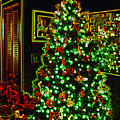 Neon Christmas Tree by Nancy Mueller