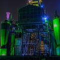 Neon Color Machinery by Billy Soden