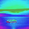 Neon Ferry by Maro Kentros