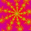 Neon Fractals by Becky Herrera