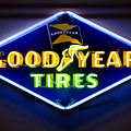 Neon Goodyear Tires Sign by Mike McGlothlen