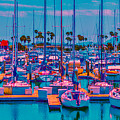 Neon Marina by Jody Lane