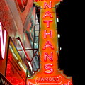 Neon Nathans by Ed Weidman