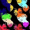Neon Palm  by Saadana Shanmukam