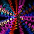 Neon Rave Blur by David Stasiak