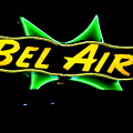 Neon Sign - Bel Air Motel - Wildwood by Anna Maria Virzi