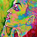 Neon Vibes Painting by Jevie Stegner
