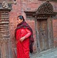 Nepalese Woman by Dorota Nowak
