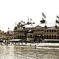 Neptune Casino And Onion-domed Bandstand, Santa Cruz Beach Circa 1904 by California Views Archives Mr Pat Hathaway Archives