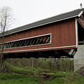 Netcher Road Covered Bridge 2 by Jeff Roney