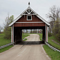 Netcher Road Covered Bridge by Jeff Roney