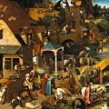 Netherlandish Proverbs by Celestial Images