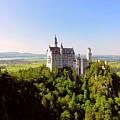 Neuschwanstein Castle  by Bruce Thompson