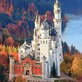 Neuschwanstein - Germany by Henk Meijer Photography