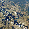 Nevada Mountain Terrain Aerial Lakes by Toby McGuire