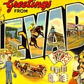 Nevada Postcard by Marianne Dow